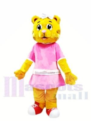 Weiblicher Daniel Tiger Maskottchen Kostüme