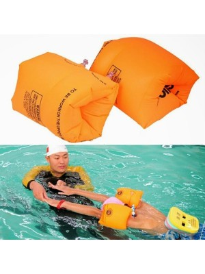 2 Stck Aufblasbar Luft Ärmel Schwimmen Sicherheit Arm Ring Schwimmend Zum Erwachsene Kind