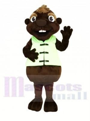 Schokoladen Biber Maskottchen Kostüme