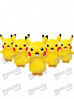 Bereit zum Versand japanischen Pikachu Pokémon Pokemon Go Maskottchen Kostüm Fancy Dress Outfit auf Lager