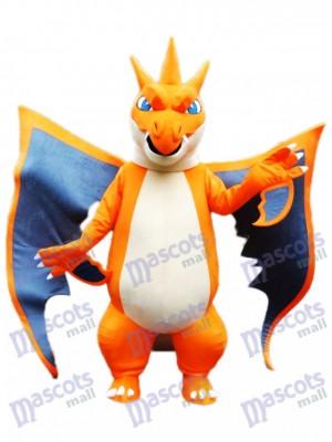 Mega Charizard X Pocket Monster Pokemon Pokémon Gehen Maskottchen Kostüm