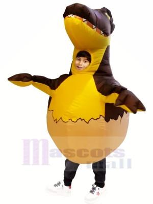 Aufblasbar Dinosaurier Ei Kostüm Halloween Dino Weihnachten zum Kinder