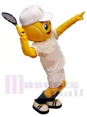 Tennisjunge Maskottchen Kostüm