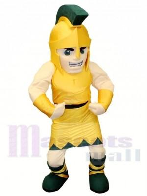 Weiterführende Schule spartanisch Maskottchen Kostüm Kostenloser Versand