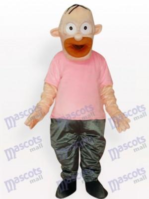 Homer Simpson Vater Anime Maskottchen Kostüm