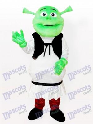 Shrek Maskottchen Kostüm für Erwachsene
