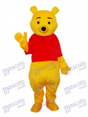 Pooh Bär Maskottchen Erwachsene Kostüm Tier