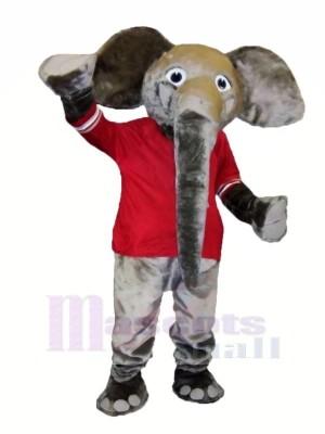 Groß Grau Elefant Maskottchen Kostüme Tier