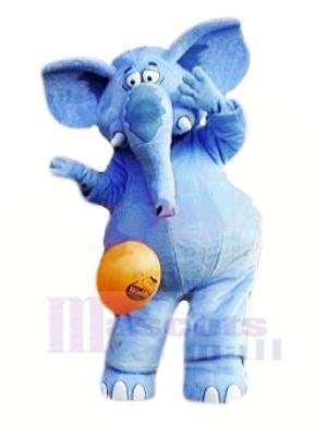 Stark Blau Elefant Maskottchen Kostüme Tier