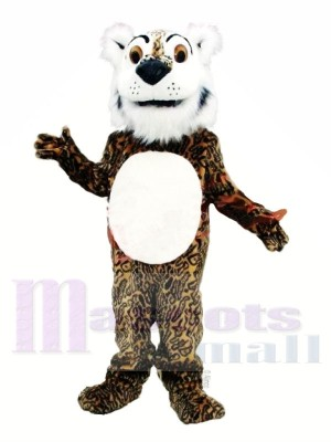 Comic Leopard Maskottchen Kostüme Tier