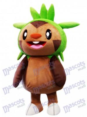 Chespin Maskottchen Kostüm Pokemon Pokémon GO Pocket Monster Gras Typ Chespie Maskottchen