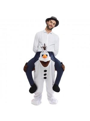 Gefroren Olaf Tragen mich Fahrt auf Halloween Weihnachten Kostüm zum Erwachsener/Kind