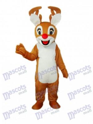 Bambi Maskottchen Erwachsene Kostüm Tier