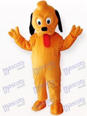 Gelber Hund Tier Maskottchen Kostüm für Erwachsene