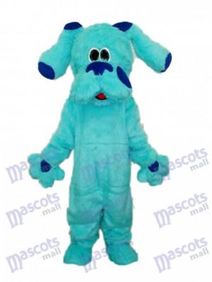 Blauer Hund Maskottchen Erwachsener Kostüm Tier