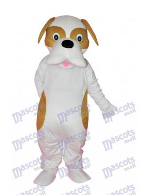 Brown und weißer Hund Maskottchen Kostüm Tier