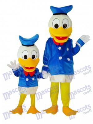 Kind und Erwachsene Donald Duck Maskottchen Kostüm Cartoon Anime