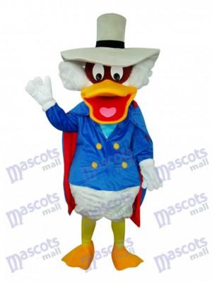 Donald Duck mit Topf Hut Maskottchen Kostüm Karikatur Anime