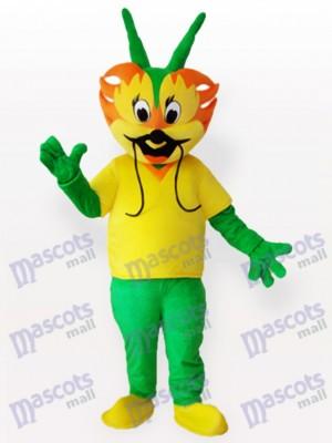 Cyan Drache Maskottchen Kostüm für Erwachsene