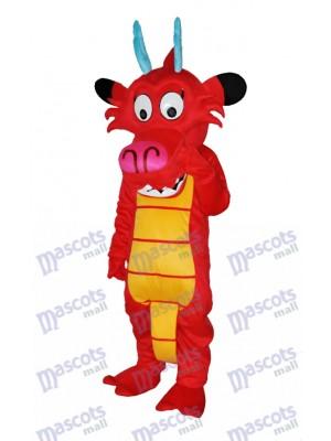 Drachen Mushu Dinosaurier Maskottchen Kostüm Tier
