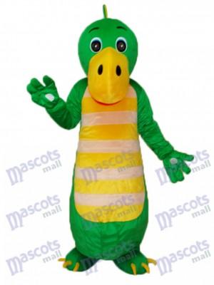 Grünes chinesisches Drachen Maskottchen erwachsenes Kostüm Tier