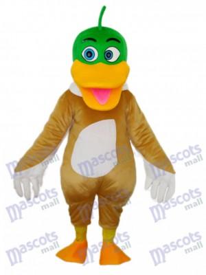 Grüne Ente Maskottchen Erwachsene Kostüm Tier