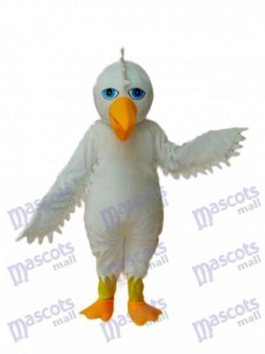 White Eagle Maskottchen Adult Kostüm Tier