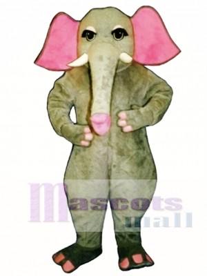 Mädchen Elefant Maskottchen Kostüm