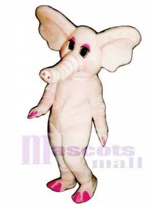 Elphie Elefant Maskottchen Kostüm
