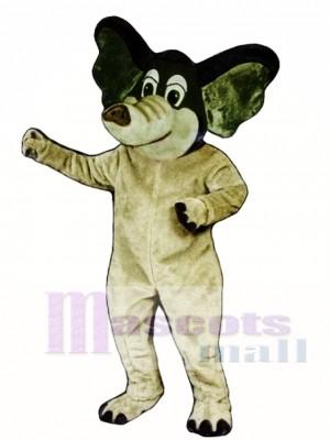 Edgar Elefant Maskottchen Kostüm
