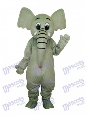 Little Grey Elephant Maskottchen Adult Kostüm Tier