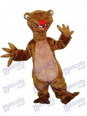 Faultier Maskottchen Erwachsene Kostüm Tier