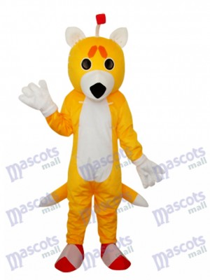 Double Tail Fox Maskottchen Adult Kostüm Tier