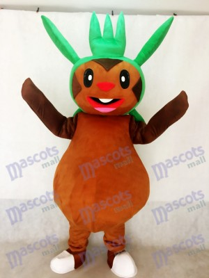 Chespin Pokemon Pokémon GEHEN Pocket Monster Gras Typ Chespie Maskottchen Kostüm