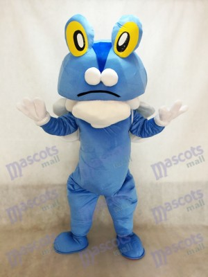Blauer Frosch Froakie Pokemon Pokémon GO Taschen Monster Maskottchen Kostüm