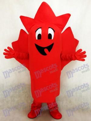 Red Maple Leaf Maskottchen Kostüm