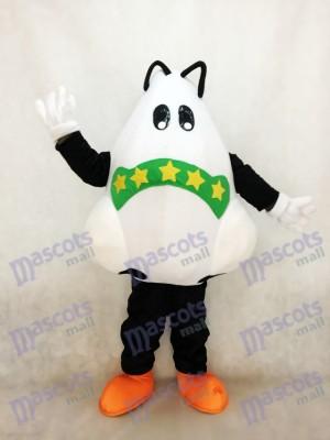 Nette große Nase mit grünem Verband-Maskottchen-Kostüm