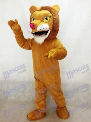 Afrikanisches Löwe-Maskottchen-Kostüm mit roter Nase