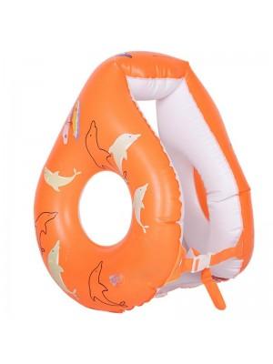 Aufblasbar Schwimmend Weste Dauerhaft 8-Form Wasser Sicherheit Leben Boje