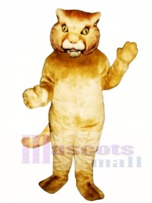 Golden Panther Maskottchen Kostüm