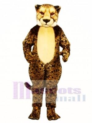 Gepard Leopard Maskottchen Kostüm