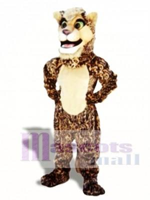 Leopard Cub Maskottchen Kostüm Tier