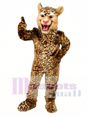 Leopard / Gepard / Jaguar Maskottchen Kostüm