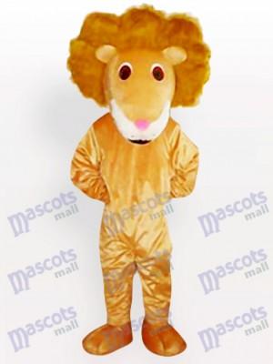 Löwe des geschwungenen Haars Tier Maskottchen Kostüm