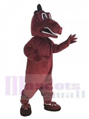Drache maskottchen kostüm