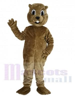 Braun Murmeltier Maskottchen Kostüm Tier