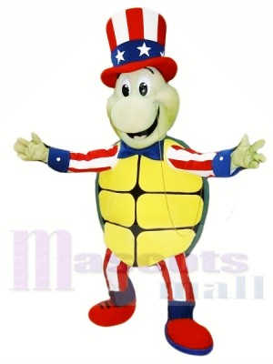 Glückliche Schildkröte Maskottchen Kostüme