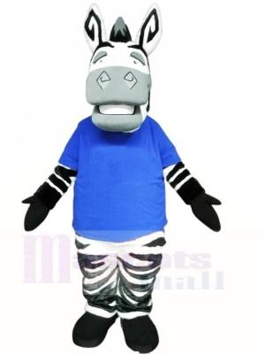 Nettes leichtes Zebra Maskottchen Kostüme