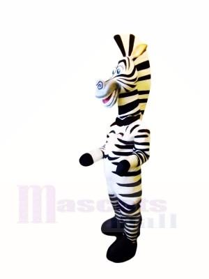 Glückliches Zebra Maskottchen Kostüme