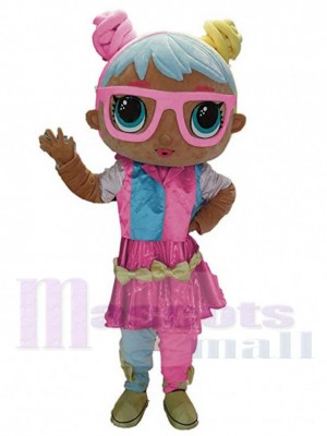 LOL Puppenbonbon maskottchen kostüm